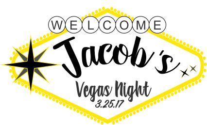Vegas Night art for Barry