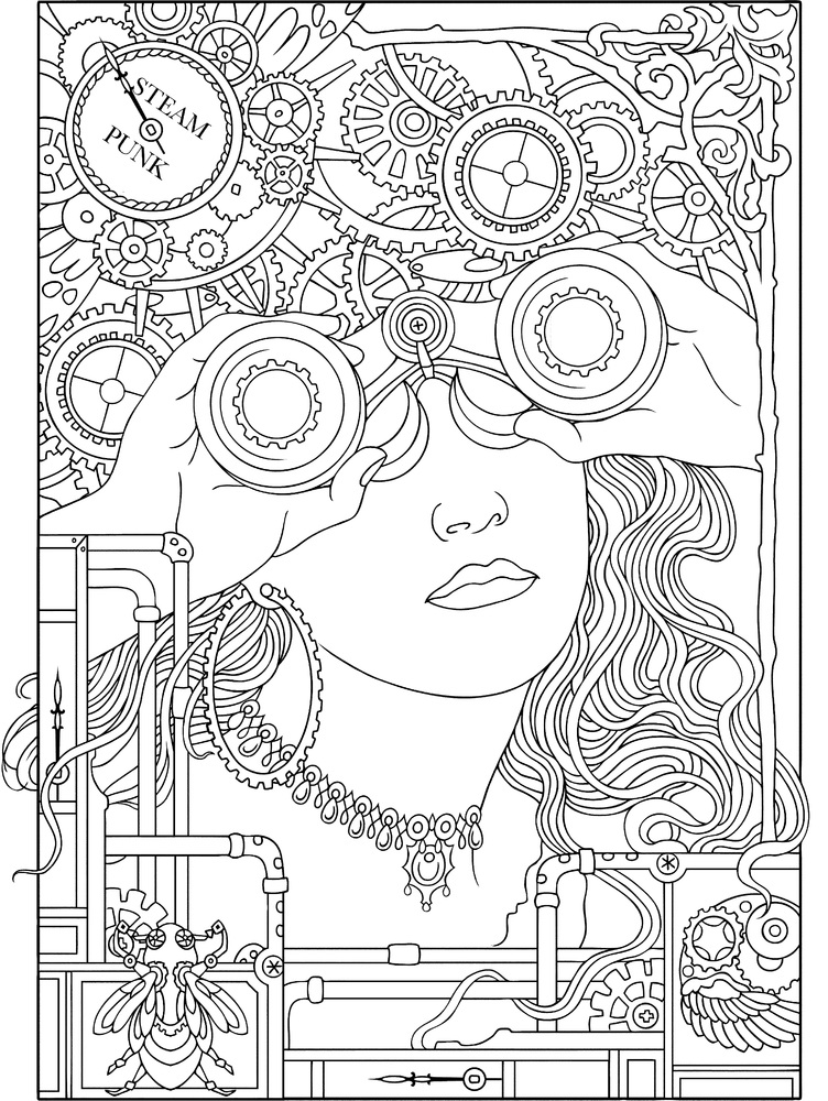 10 adult coloring books to help you destress and self