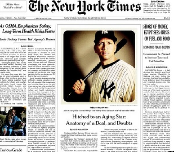 NY Times Runs Instagram Photo On Front Page (PHOTO)   HuffPost