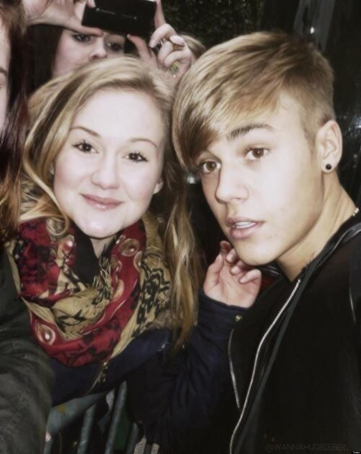 Justin Biebers New Haircut Singer Gets Bangs Rewinds To