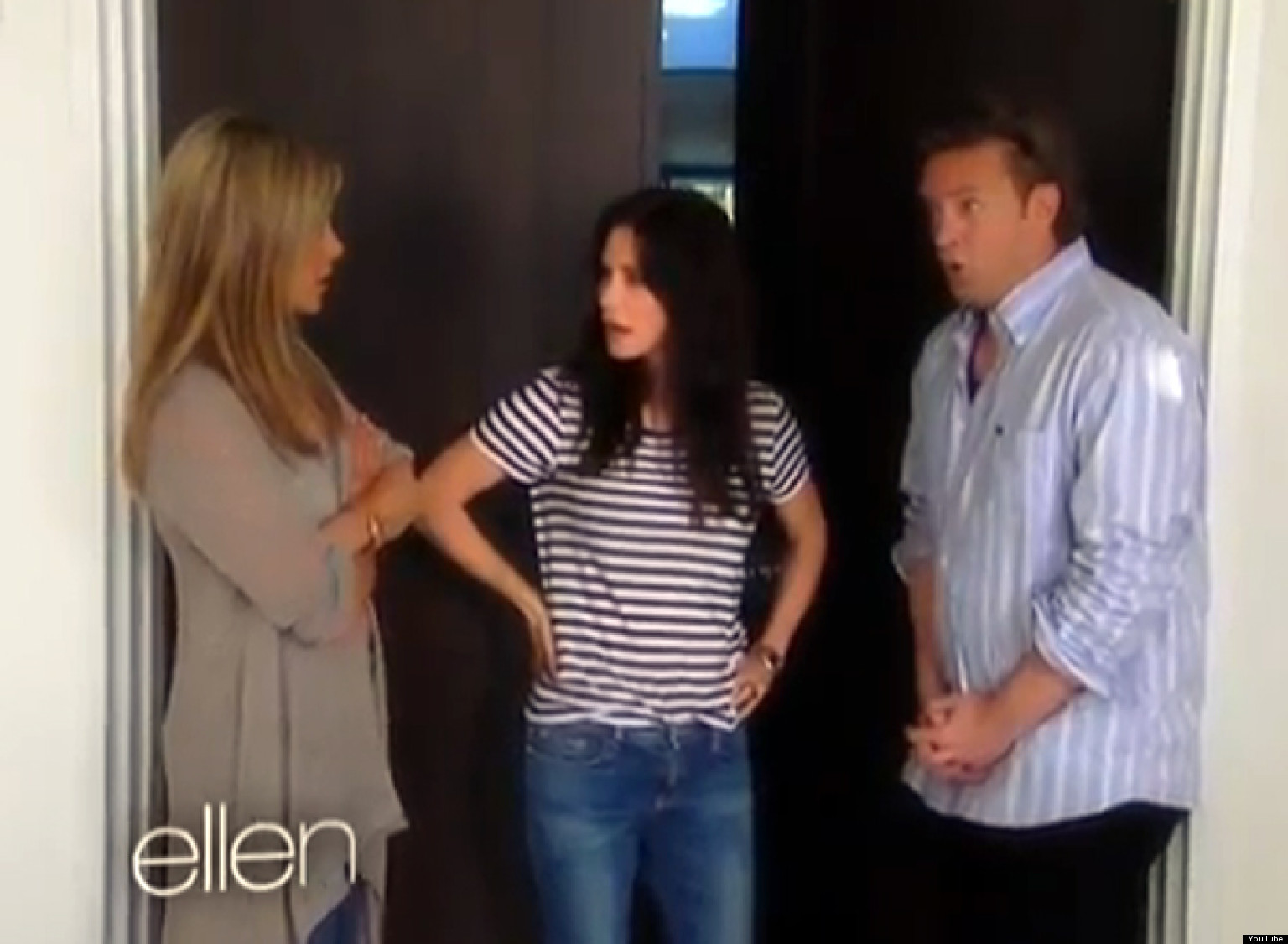 Jennifer Aniston Has Friends Reunion With Matthew Perry