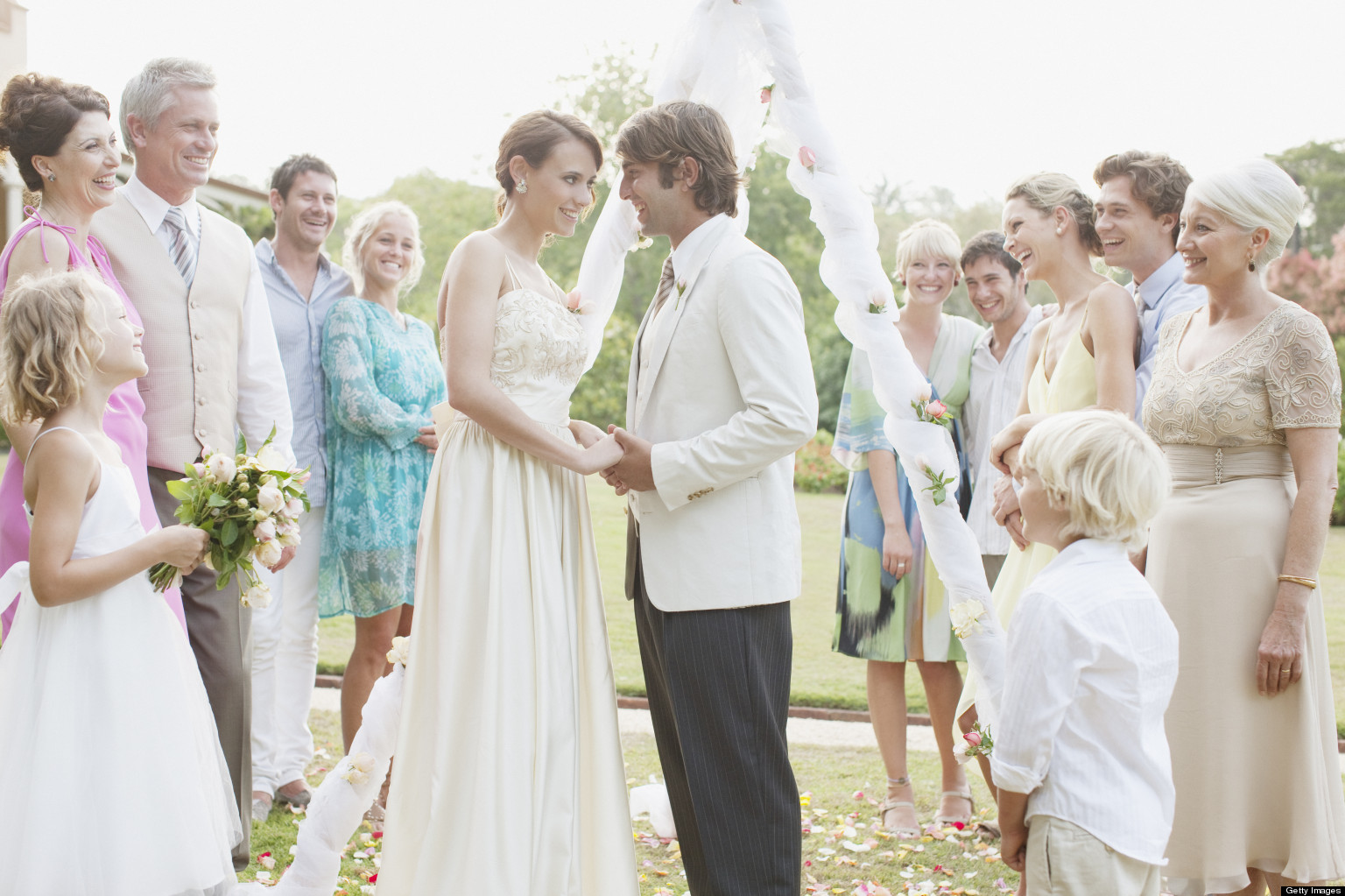 Outdoor Formal Wedding Attire