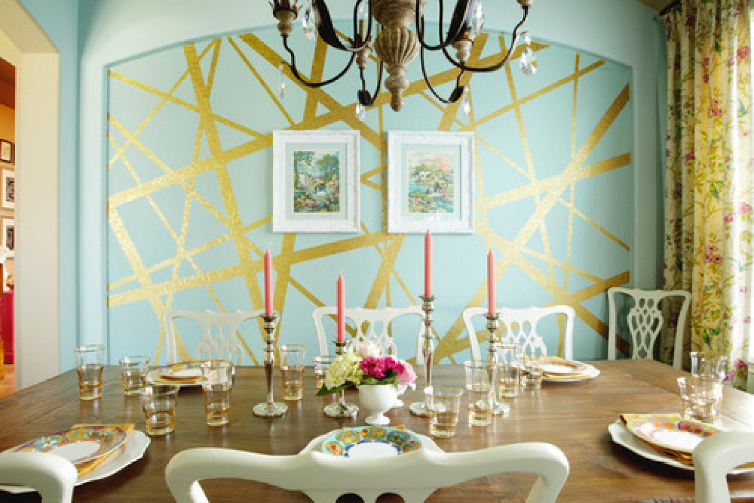 8 Incredible Interior Paint Ideas From Real Homes That ... on Painting Ideas For House  id=26156