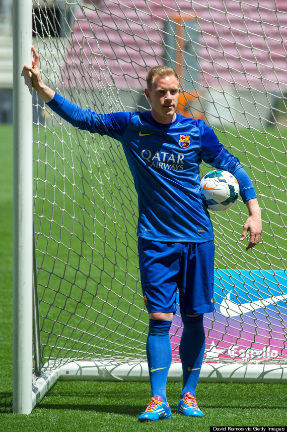 Marc Andr Ter Stegen Unveiled By Barcelona PICTURES