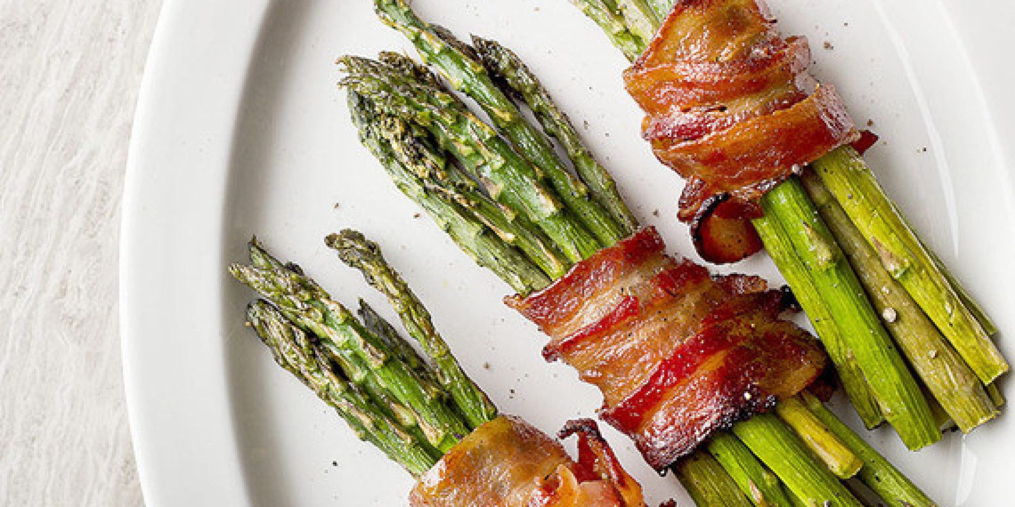 Brown Sugar Bacon Wrapped Asparagus Huffpost