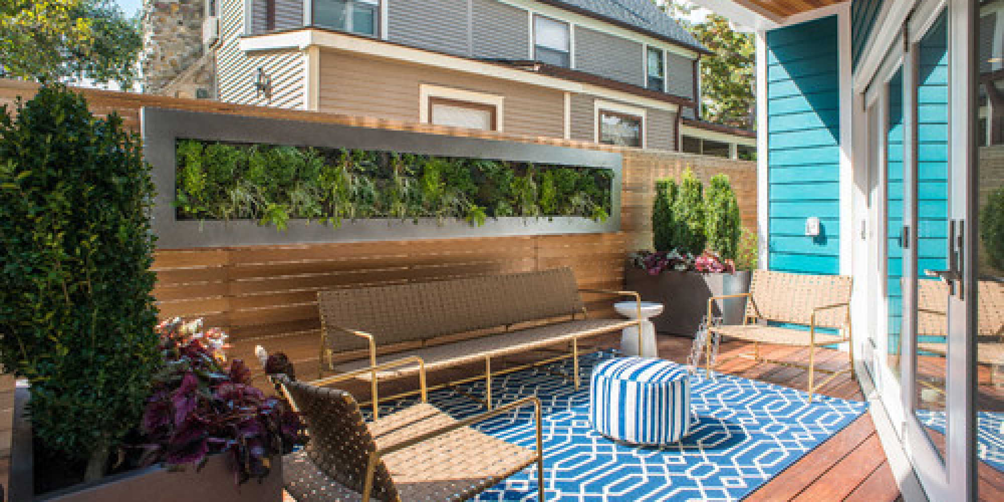 16 Ways to Get More from Your Small Backyard | HuffPost on Small Outdoor Yard Ideas id=47367