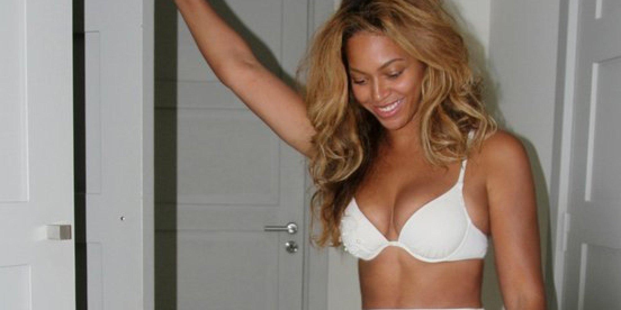 Beyonce Sizzles In A White Bikini HuffPost