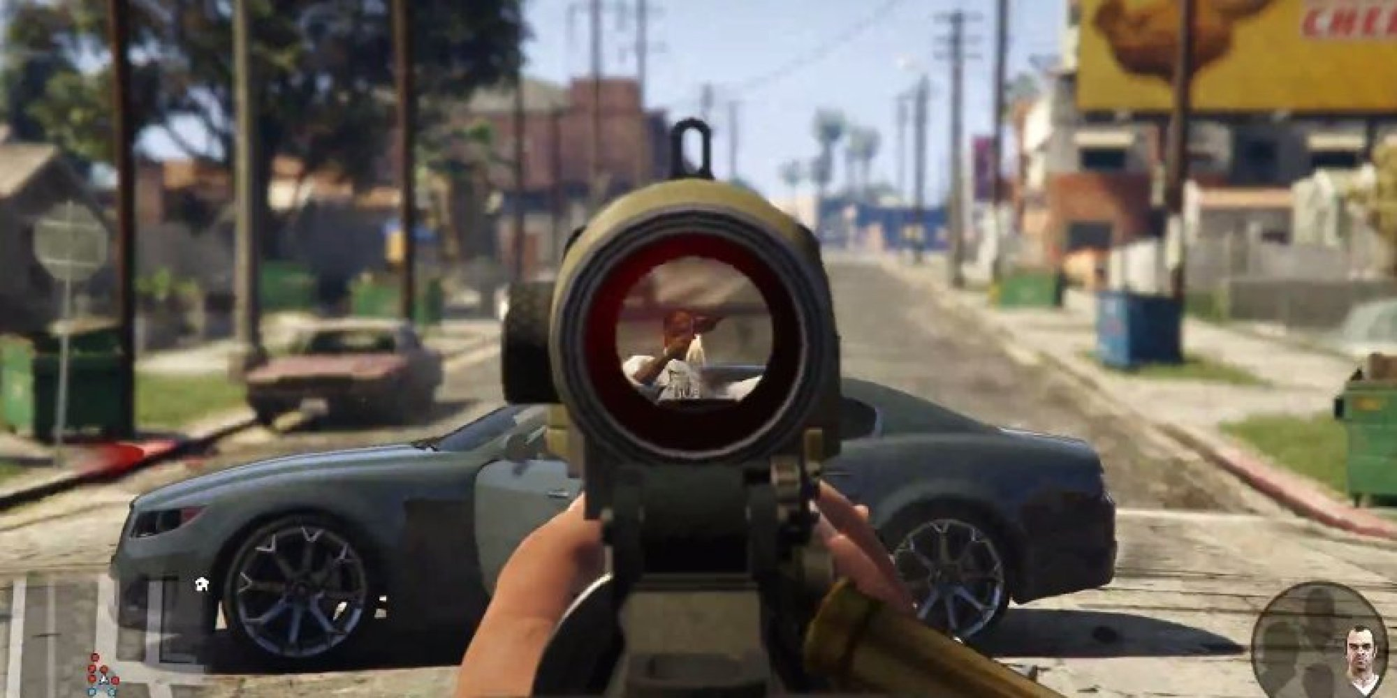 New Grand Theft Auto Offers First Person Perspective For