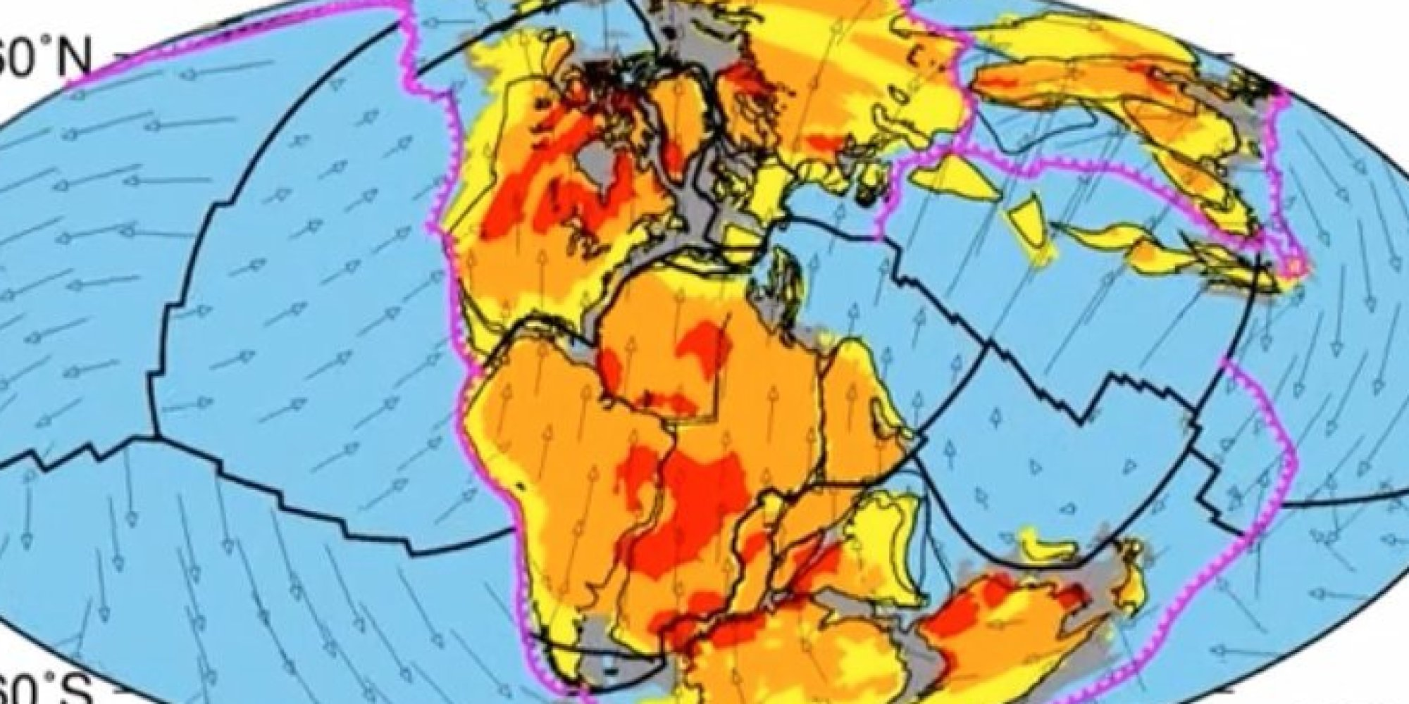 Earth Tectonic Plate Simulation Reveals Our Planet Has