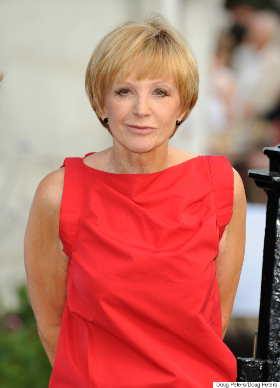 Anne Robinson Looks Fabulous At 70 As She Heads Out For A