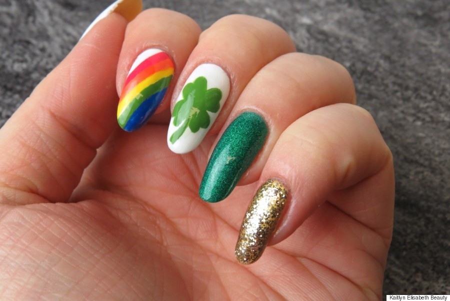 Nail Art: A Fun And Easy St. Patrick's Day Design