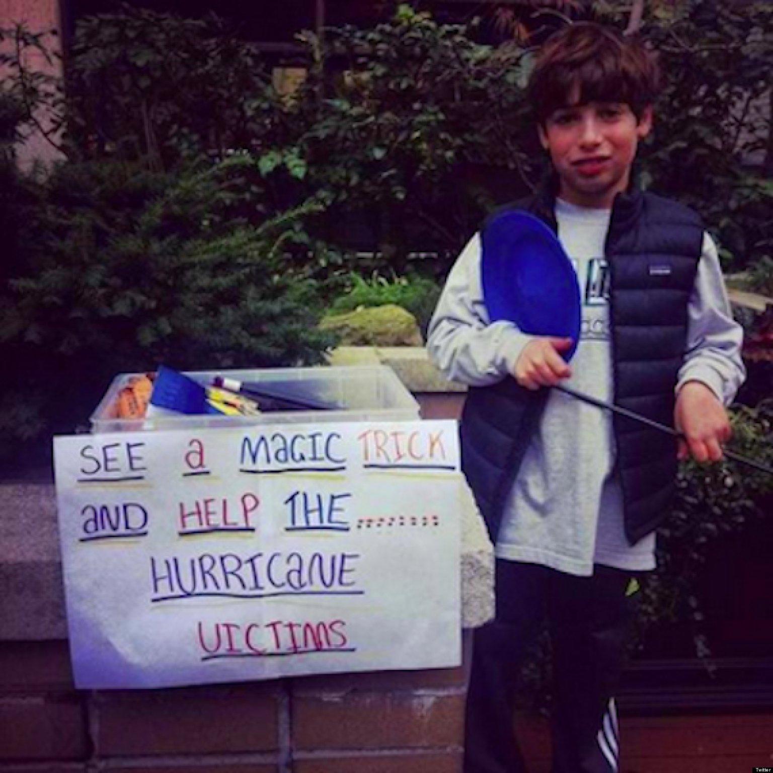 Random Acts Of Kindness After Hurricane Sandy Slideshow