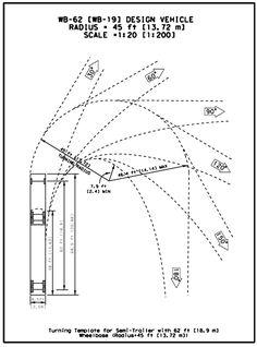 Truck Turning & Backup Radius | Graphic Standards | Pinterest | Trucks and Turning