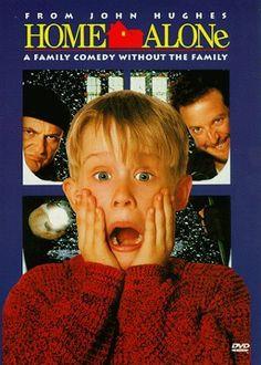 Esta es la única película que no quieres volver a ver pero que sabes que tarde o temprano te toparás con ella en la tv y la volverás a ver...Home Alone (1990)