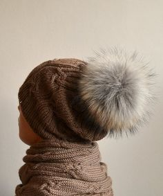 Image result for fluffy pom pom beanies pinterest