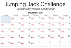 1000 ideas about Jumping Jack Challenge on Pinterest