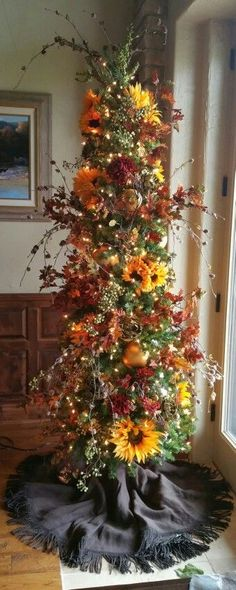 1000 Ideas About Fall Tree Decorations On Pinterest