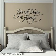 L Amore Vinyl Wall Decal