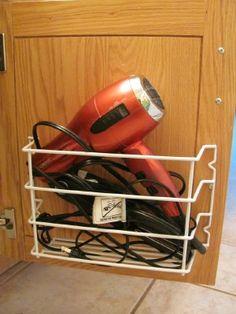 1000 Ideas About Hair Dryer Storage On Pinterest Towel