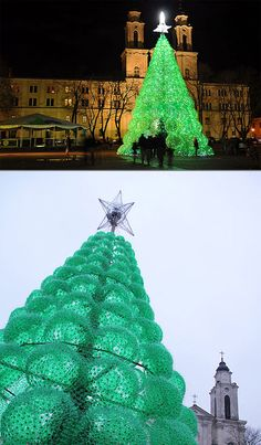 1000 Images About Soda Bottle Christmas Tree On Pinterest