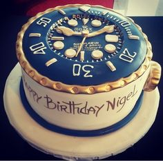 1000 Images About Watch Cake On Pinterest Rolex Watches