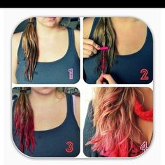 1000 images about hair chalking on pinterest hair chalk dark hair and pastel hair