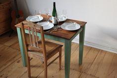 Küchentisch von 1948 - pure Nostalgie - Maigrün | Kleiner ...