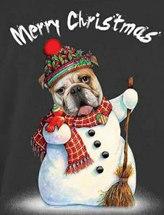 1000 Images About Holiday Bulldogs On Pinterest
