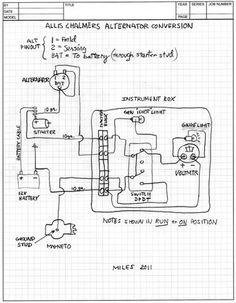 6v wiring diagram allis chalmers c | Allis chalmers b c