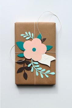 Paper flowers gift t