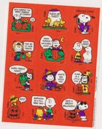 halloween sticker sheets