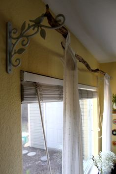 1000 Ideas About Branch Curtain Rods On Pinterest Curtain Rods Curtains And Target Bedding