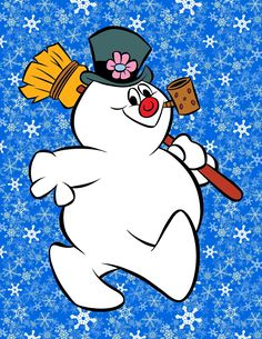 Frosty The Snowman ♥ I looked forward for this classic on tv every Christmas, as a child : )