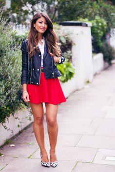 Mimi Ikonn Little Red Dress Melissa Shoes Matt Amp Natt