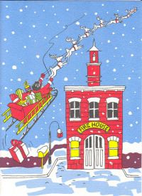 1000 Images About Firefighter Christmas Greeting Cards On