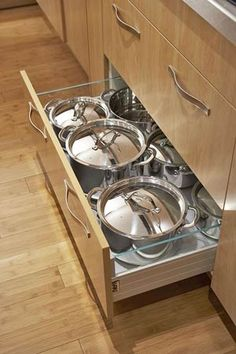 1000 images about pots and pans on pinterest pot racks dinnerware and pots on kitchen organization pots and pans id=95884
