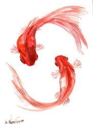 """Résultat de recherche d'images pour """"dessin poisson rouge"""""""