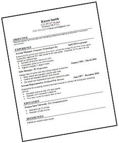 Image Result For Best Resume Format Tips