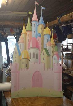 Details About Disney Princess Castle HUGE CARDBOARD CUTOUT Standee Standup Party Decoration