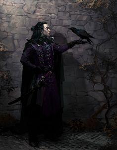 Raven by Vera Velich