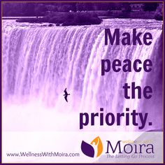 Make peace the prior