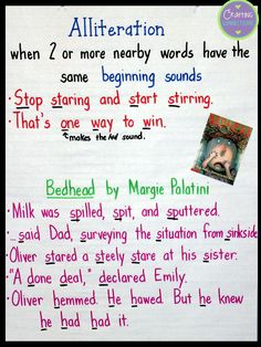 Alliteration Poems For 3rd Grade | Poemsrom.co