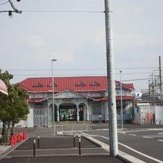 南海の駅。