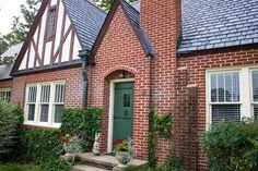 Tudor Home Style Exterior Window Door Details UCC