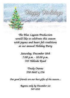 1000 Images About Christmas Party Invitations On
