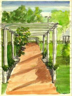Resultado de imagen para pinturas parque chacabuco