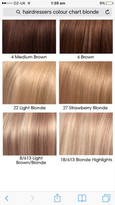 Light Ash Brown Hair Color Dye Pictures Chart On Black