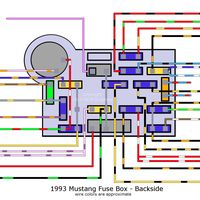 98 mustang wiring diagram | car | Pinterest | 98 and Mustangs