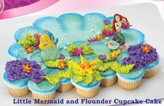 1000 Images About Cupcake Cakes Cupcake Pull Apart