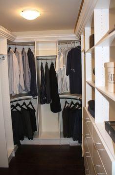 Knockout Oval Corner Closet Rod Home Decor